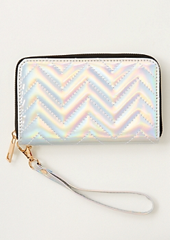 Holographic Quilt Wallet