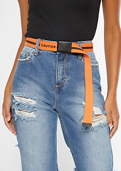 Orange Limited Edition Web Belt