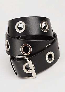 Grommet Lined Belt