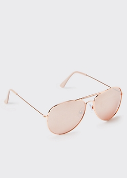 Rose Gold Aviators