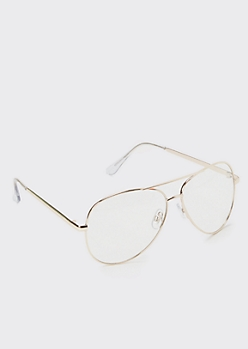 Gold Metal Aviator Readers