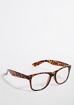 Tortoiseshell Clear Lens Retro Readers