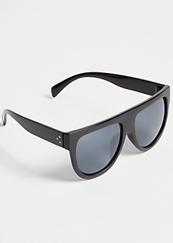Black Flat Top Sunglasses