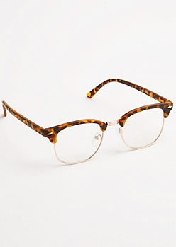 Tortoiseshell Square Lens Readers