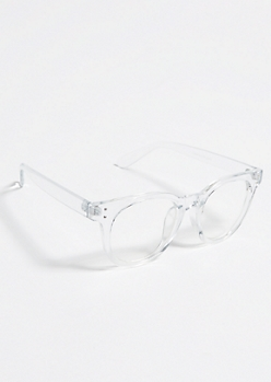 Clear Square Frame Readers