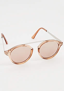 Pink Brow Bar Cat Eye Sunglasses