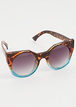Tortoiseshell Ombre Cat Eye Sunglasses
