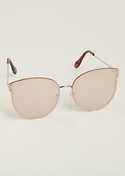 Pink Full Coverage Sunglasses