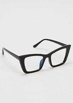 Black Cat Eye Reader Glasses