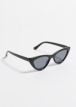 1254e90a4b Black Micro Cat Eye Sunglasses