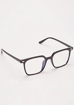 Black Frame Square Readers
