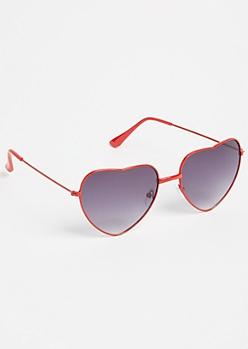 Red Heart Eye Sunglasses