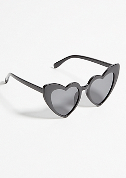 Black Heart Eye Sunglasses