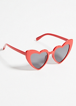 Red Heart Eye Sunglasses