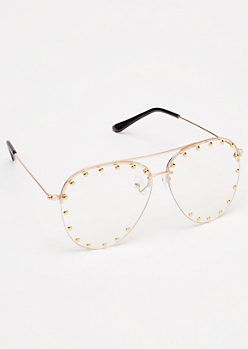 Studded Aviator Readers