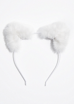 Faux Fur Cat Ear Headband