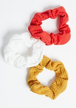3-Pack Trio Bright Scrunchie Set