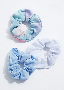 3-Pack Tie Dye Scrunchie Set