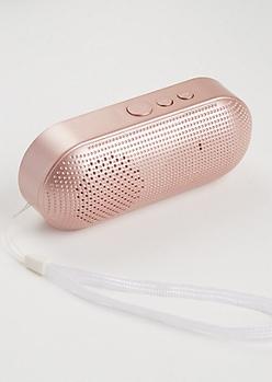 Rose Gold Pill Wireless Speaker