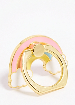 Rainbow Ring Holder Kickstand
