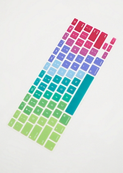 Rainbow Gradient MacBook Keyboard Cover