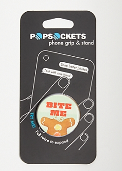 Mint Bite Me Print Popsocket