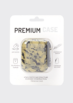 Camo Print Wireless Earbud Case