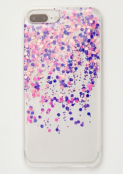 Clear Glitter Phone Case For iPhone 6/7/8 Plus