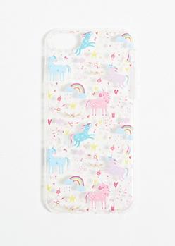 Rainbow Unicorn Phone Case for iPhone 6/7/8