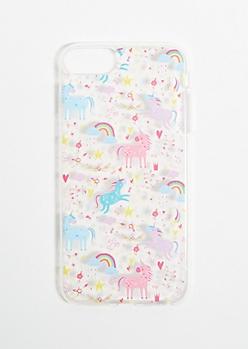 Rainbow Unicorn Phone Case for iPhone 6/7/8 Plus