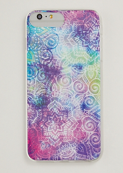 Pastel Tie Dye Medallion Phone Case For iPhone 6/7/8 Plus