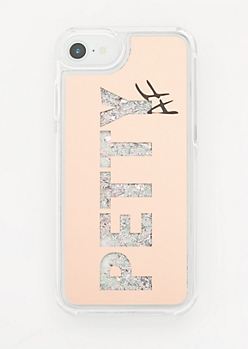 Petty AF Floating Glitter Case for iPhone 6/6s/7