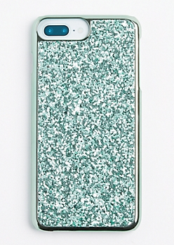 Mint Glitter Phone Case for iPhone 7/6 Plus
