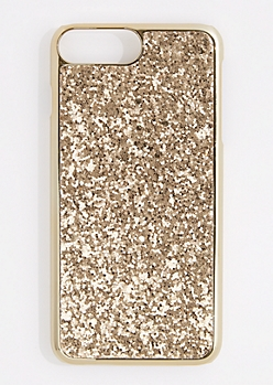 Golden Glitter Phone Case for iPhone 7/6 Plus