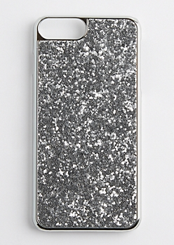Chunky Silver Glitter Case for iPhone 7/6 Plus
