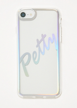 Clear Petty Phone Case for iPhone 6/6s/7/8