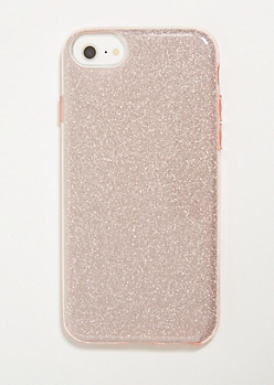 Rose Gold Glitter Phone Case for iPhone 6/6s/7/8