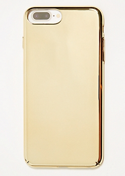 Metallic Gold Phone Case for iPhone 6/7/8 Plus