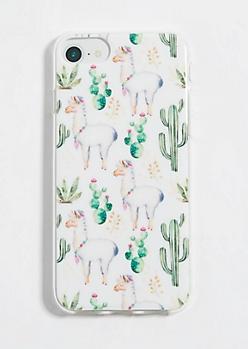 Ivory Llama Phone Case for iPhone 8/7/6