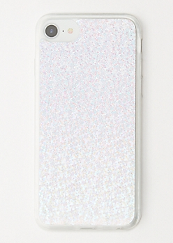 Holographic Sequin Clear Phone Case for iPhone 6/6s/7/8