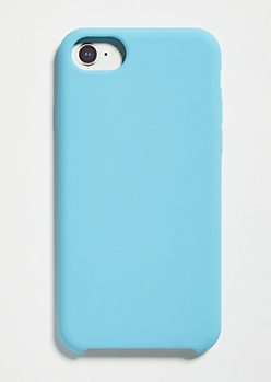 Blue Silicone Phone Case For iPhone 6/6s/7/8