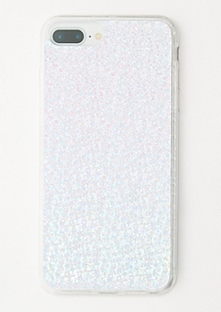 Holographic Sequin Clear Phone Case for iPhone 6/7/8 Plus