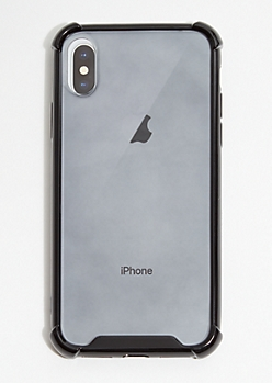 Black Tinted Phone Case for iPhone X