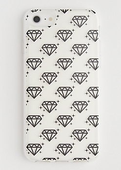Clear Diamond Phone Case for iPhone 6/6s/7/8
