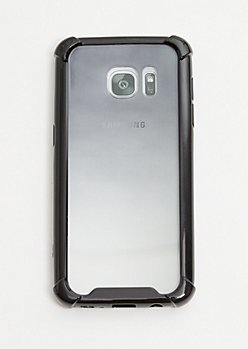 Black Ombre Phone Case for Samsung S7