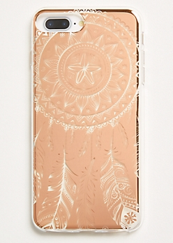 Rose Gold Dreamcatcher Phone Case For iPhone 6/7/8 Plus