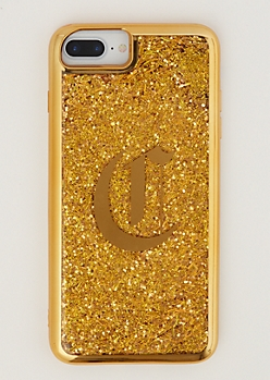 C Gold Glitter Case for iPhone 7/6 Plus