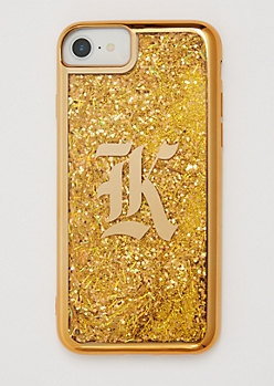 K Gold Glitter Case for iPhone 7/6
