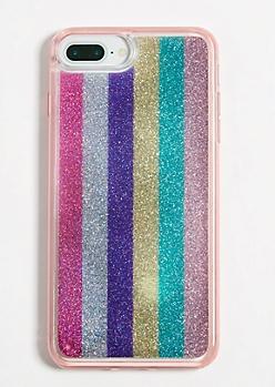Rainbow Stripe Phone Case for iPhone 6/6s/7/8 Plus