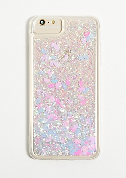 Unicorn Floating Glitter Phone Case for iPhone 6/6s/7/8 Plus